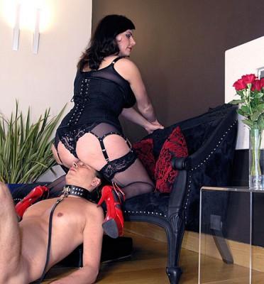 Busty Smothering Mistress